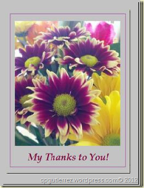 "Cathy's ""My Thanks to you!"" Badge"