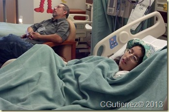 As Mija recuperates Al finally takes a break and catches a nap.